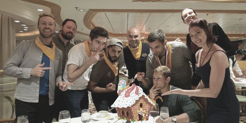 Gingerbread Wars is a fun company holiday party and team building event.