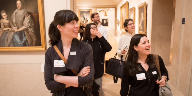 Museum Hack leads the best team building activities in Chicago.