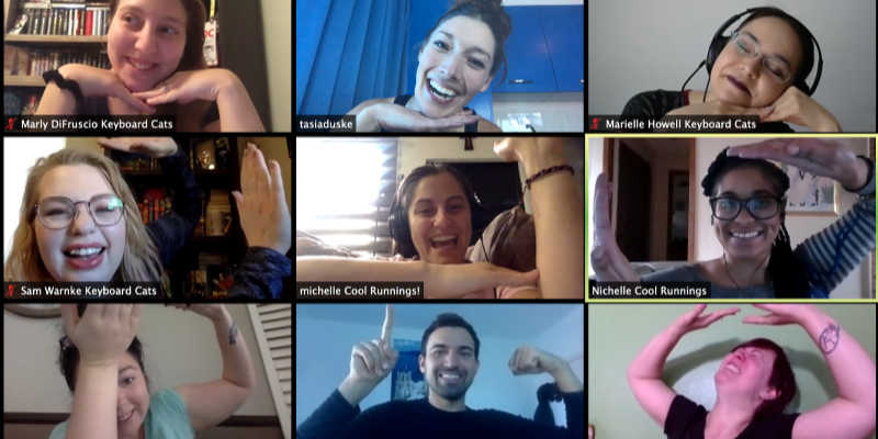 Remote team building activities are just as much fun.